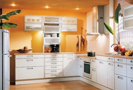 Покрасить стены на кухне фото